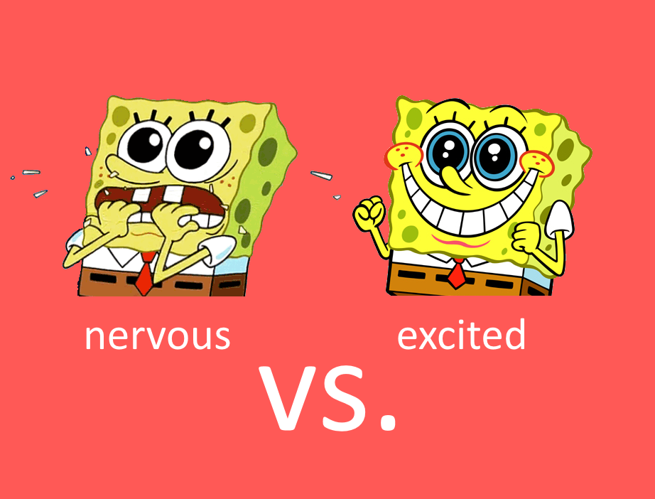 Nervous vs. Excited ภาษาอังกฤษ