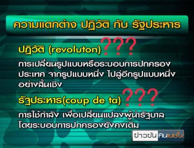 revolution in Bangkok ภาษาอังกฤษ