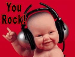you rock! ภาษาอังกฤษ